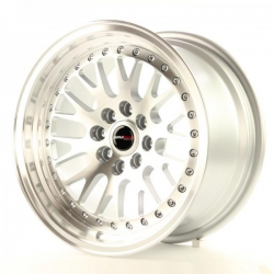 Alu kolo Japan Racing JR10 15x8 ET20 4x100/108 Machined Silver