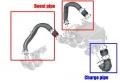 Boost hose kit TurboWorks BMW 2-Series F87 M2 Competition Coupe 3.0 S55 (18-)