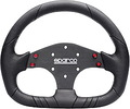 Volant Sparco P104 Sport - 310mm PU / plochý | High performance parts