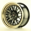 Alu kolo Japan Racing JR10 15x8 ET20 4x100/108 Mat Black Bronze Lip |