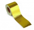 Hliníková páska zlatá Gold Heat Wrap Barrier 50mm x 5m | High performance parts